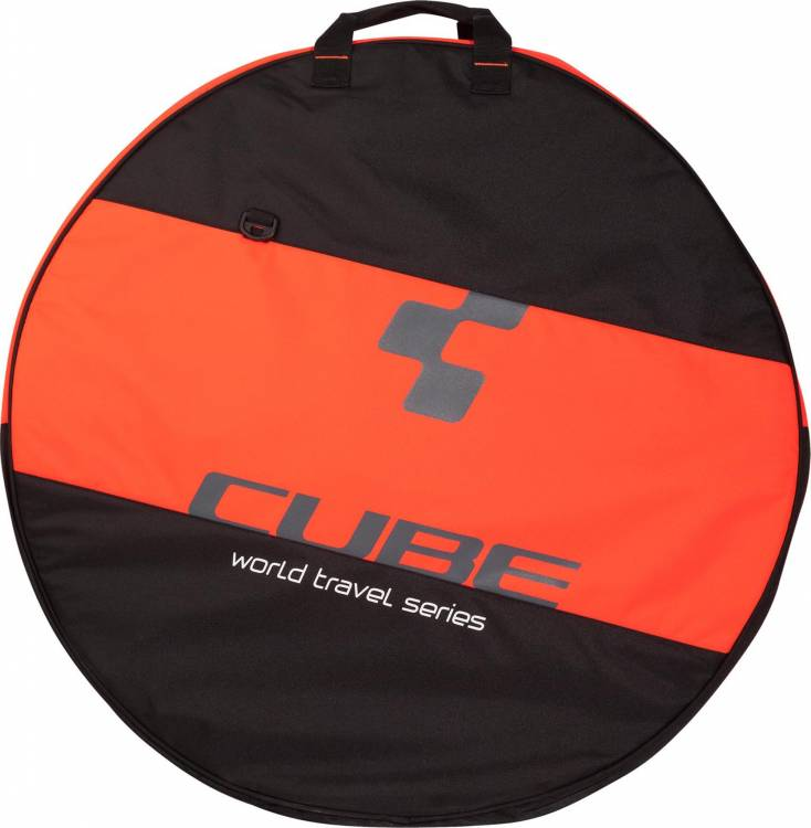 "Cube Laufradtasche 26""- 29"" 2-fach black´n´flashred"