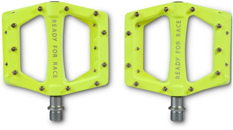 RFR Pedali Flat RACE giallo neon RACE