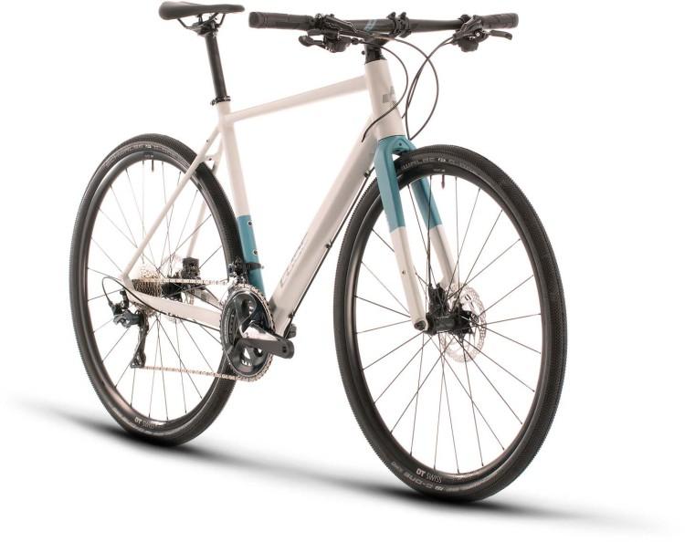 Cube SL Road SL grey n blue 2020 - Bici da Fitness per Uomini