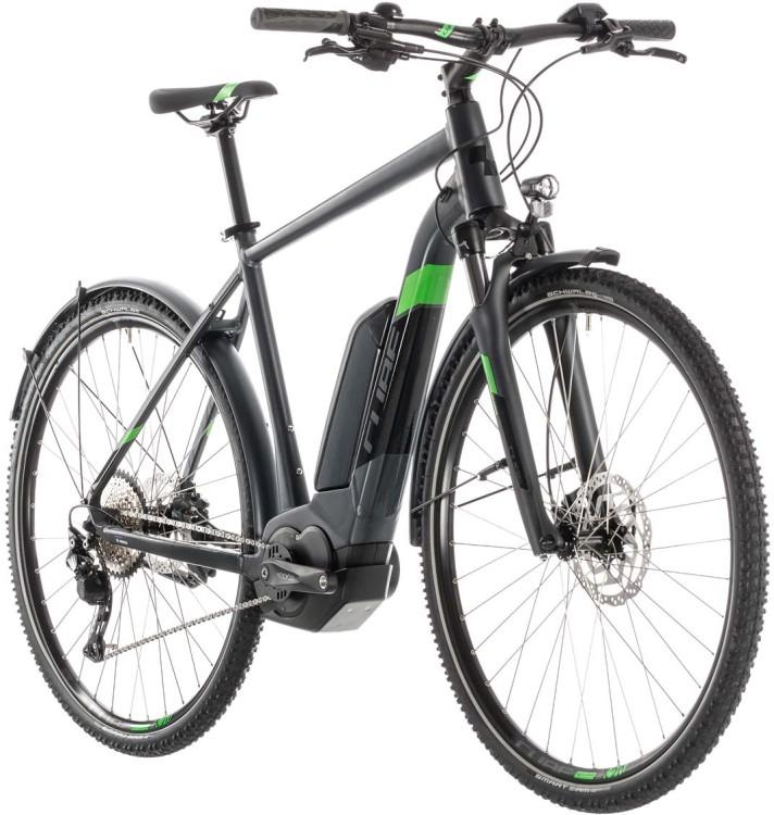 Cube Cross Hybrid Pro 400 Allroad iridium n green - Uomo 2019