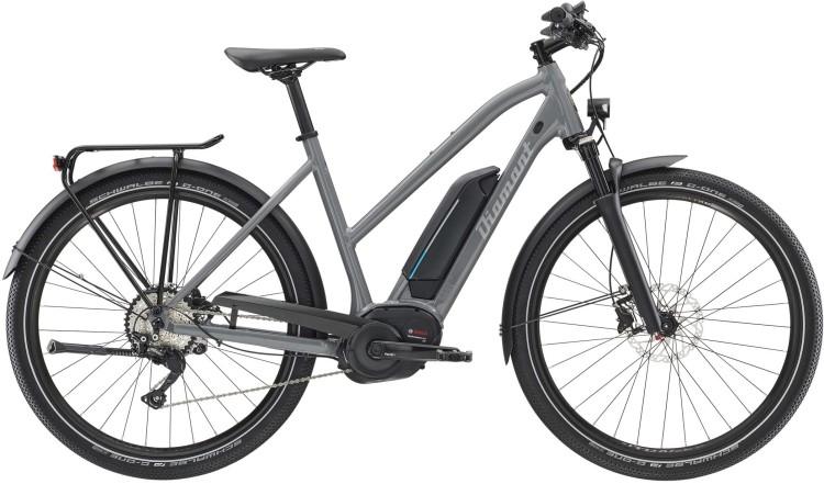 Diamant Elan Legere+ GOR Graphitgrau 2020 - E-Bike da Trekking per Donne