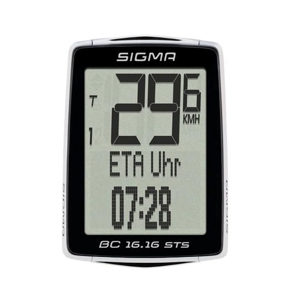 Computer per biciclette Sigma BC 16.16 STS nero