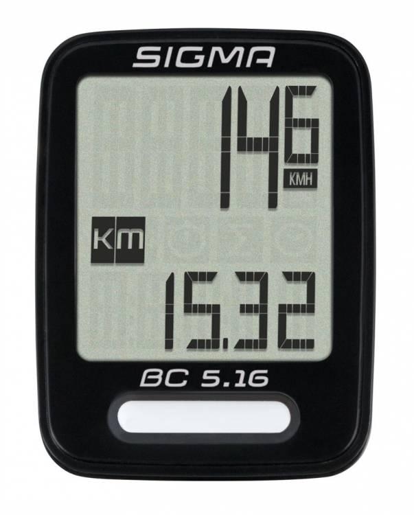 Sigma Fahrradcomputer BC 5.16