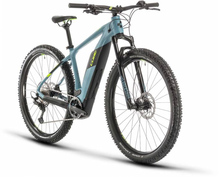 Cube Reaction Hybrid Race 500 blue n green 2020 - E-Bike Hardtail Mountainbike