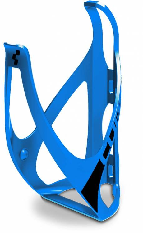 Cube bottle cage HPP classico classico blu opaco n nero