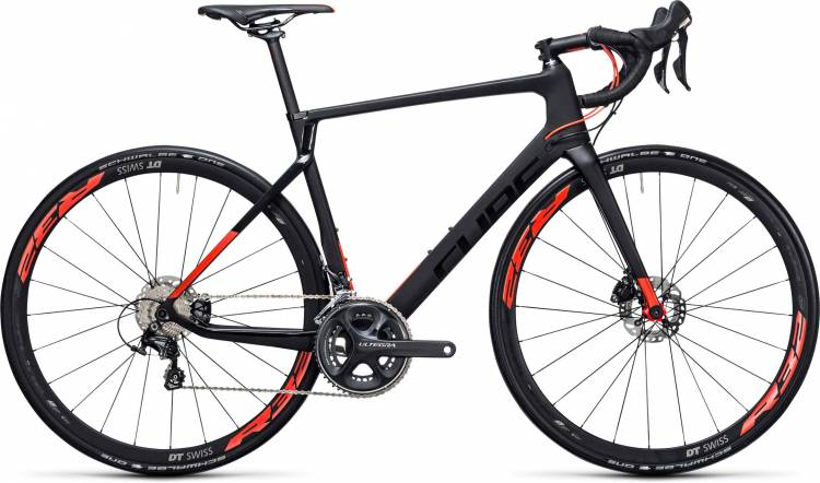 Cube Agree C:62 Race Disc carbon n flashred 2017