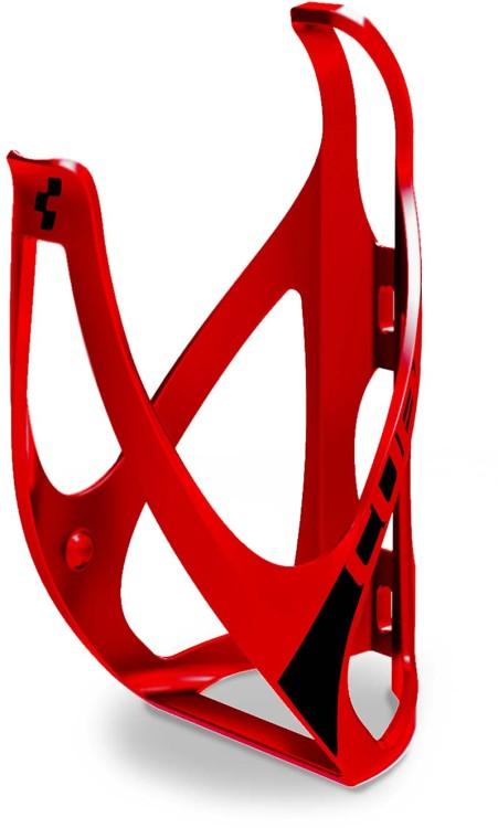 Portabottiglia a cubo HPP rosso opaco n nero