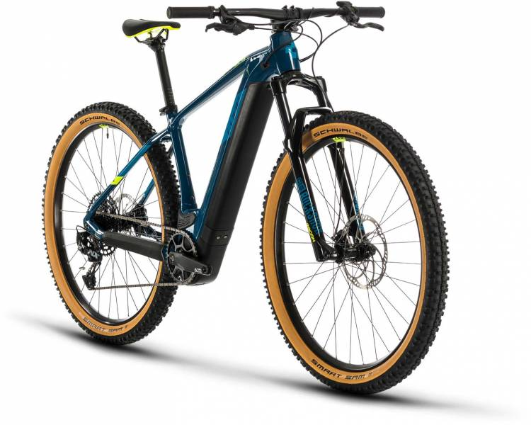 Cube Reaction Hybrid SL 625 29 blue n yellow 2020 - E-Bike Hardtail Mountainbike