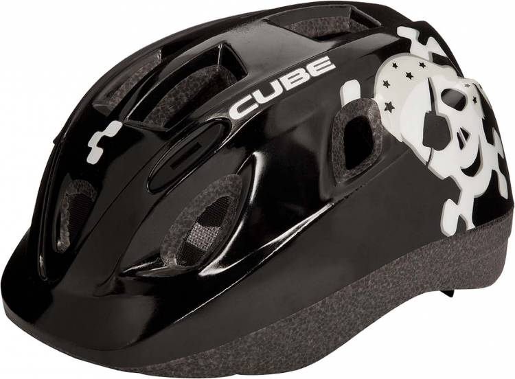 Cube Helm Kids Skull black