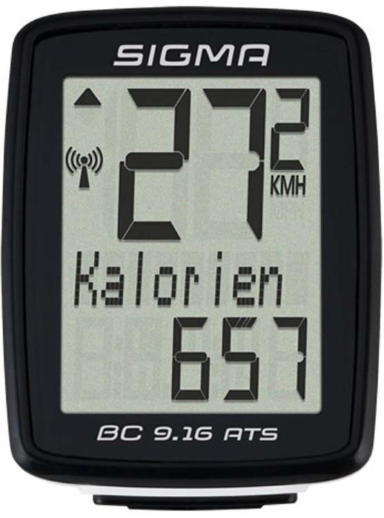 Computer per biciclette Sigma BC 9.16 ATS wireless nero
