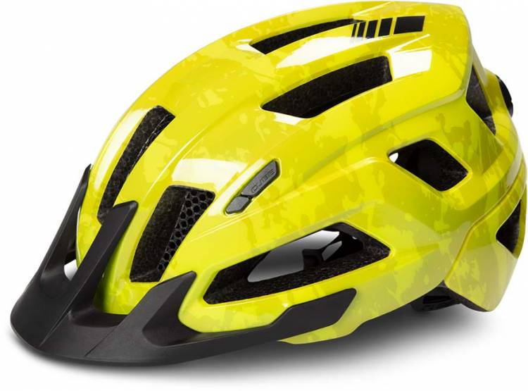 Cube Helm STEEP glossy citrone