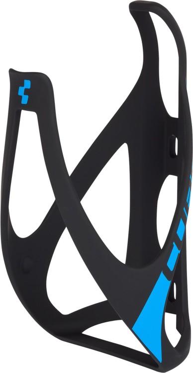 Cube Flaschenhalter HPP matt black n blue