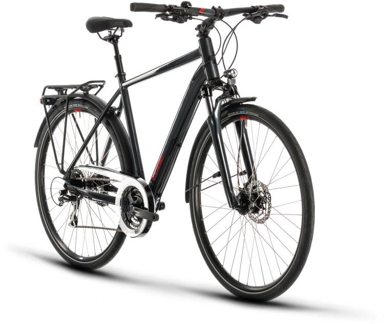 Cube Touring ONE iridium n red 2020 - Bici da Trekking per Uomini
