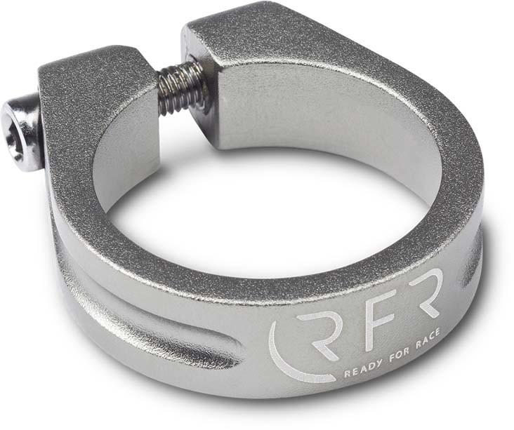 Morsetto a sella RFR 34,9 mm grigio