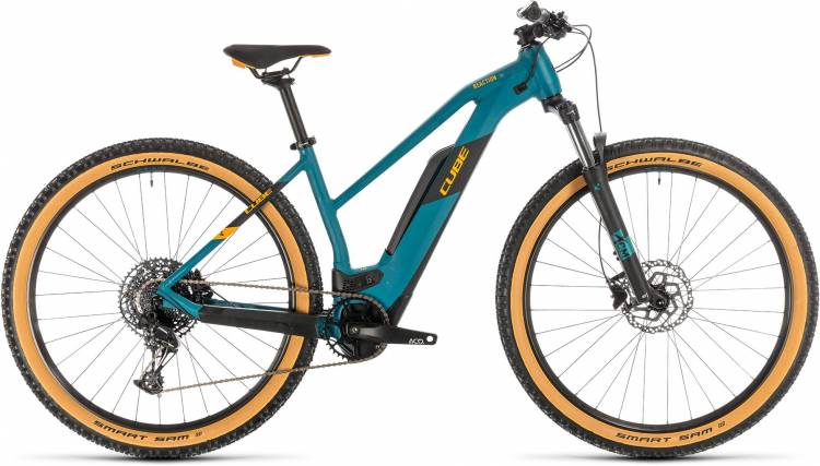Cube Reaction Hybrid Pro 500 pinetree n orange 2020 - E-Bike Hardtail Mountainbike per Donne