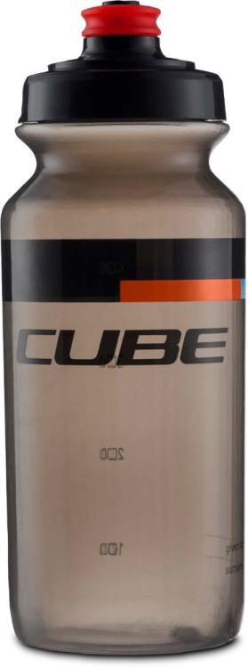 Bottiglia a cubo da 0,5 l TEAMLINE nero n rosso n blu n blu