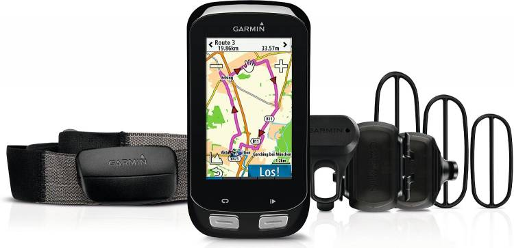 Garmin Edge® 1000 Bundle (incl. fascia toracica, sensore di velocità e cadenza)