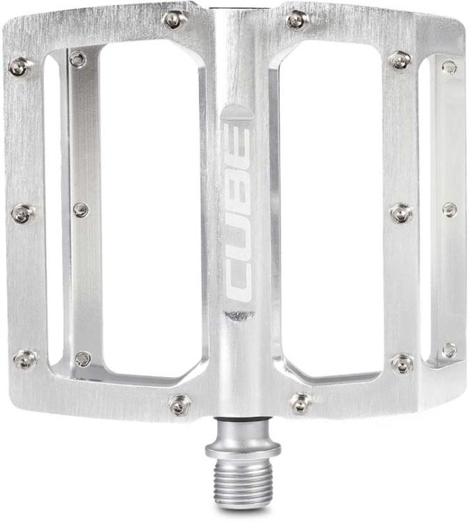 Cube Pedali ALL MOUNTAIN - argento spazzolato