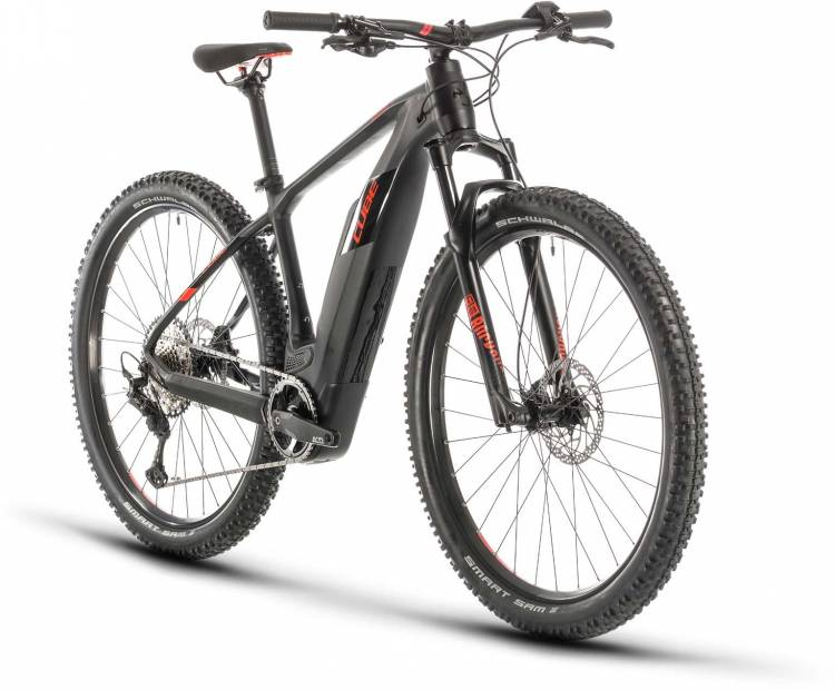 Cube Reaction Hybrid Race 500 black n red 2020 - E-Bike Hardtail Mountainbike