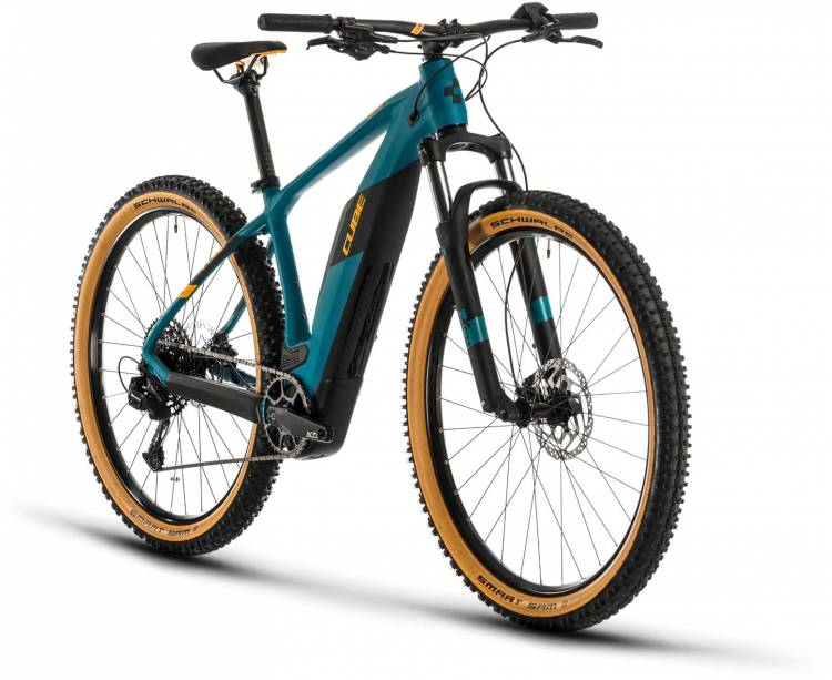 Cube Reaction Hybrid Pro 500 pinetree n orange 2020 - E-Bike Hardtail Mountainbike
