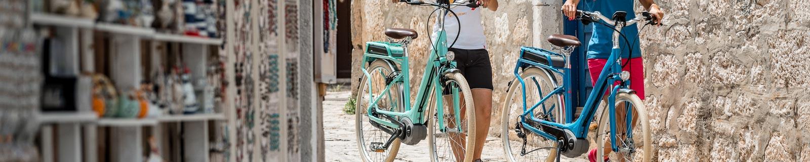 Biciclette-Elettriche da Trekking Retro