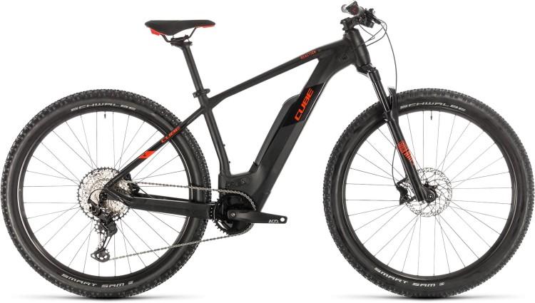 Cube Reaction Hybrid Race 500 black n red 2020 - E-Bike Hardtail Mountainbike