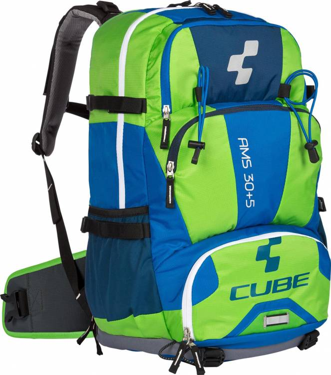 Cube Rucksack AMS 30+5 Volumen: 30+5 Liter blue n green