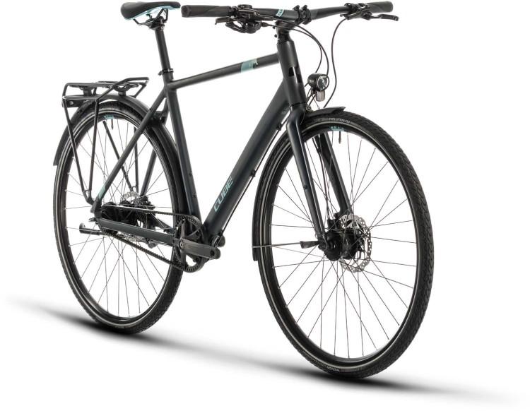 Cube Travel Exc iridium n blue 2020 - Bici da Trekking per Uomini