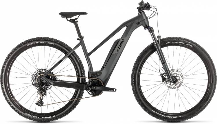 Cube Reaction Hybrid Pro 500 iridium n black 2020 - E-Bike Hardtail Mountainbike per Donne