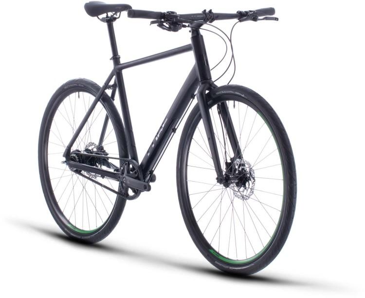 Cube Hyde Race black n green 2020 - Bici da Fitness per Uomini