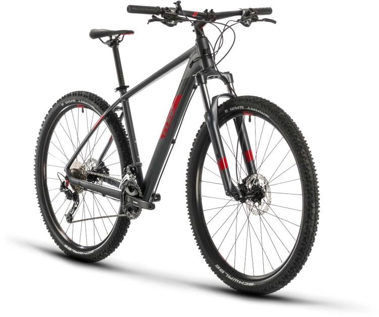 Cube Aim SL iridium n red 2020 - Hardtail Mountainbike