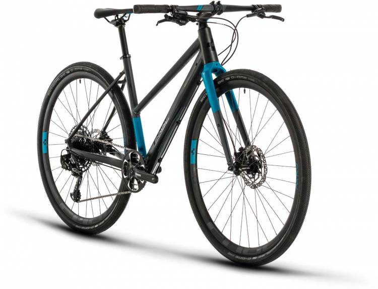 Cube SL Road Pro iridium n blue 2020 - Bici da Fitness per Donne
