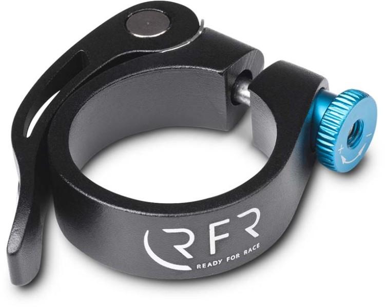 Morsetto a sella RFR con sgancio rapido 34,9 mm nero n blu