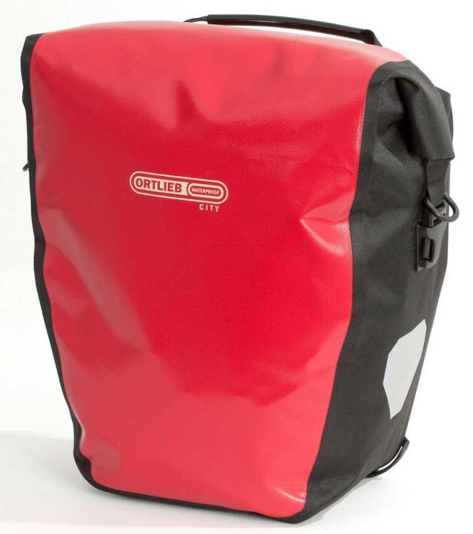 Ortlieb Back-Roller City (coppia) borsa ruota posteriore rossa