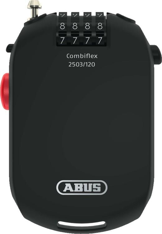 Abus speciale sicurezza Combiflex 2503/120 nero 120cm