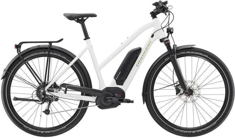 Diamant Elan+ GOR Weiss 2020 - E-Bike da Trekking per Donne