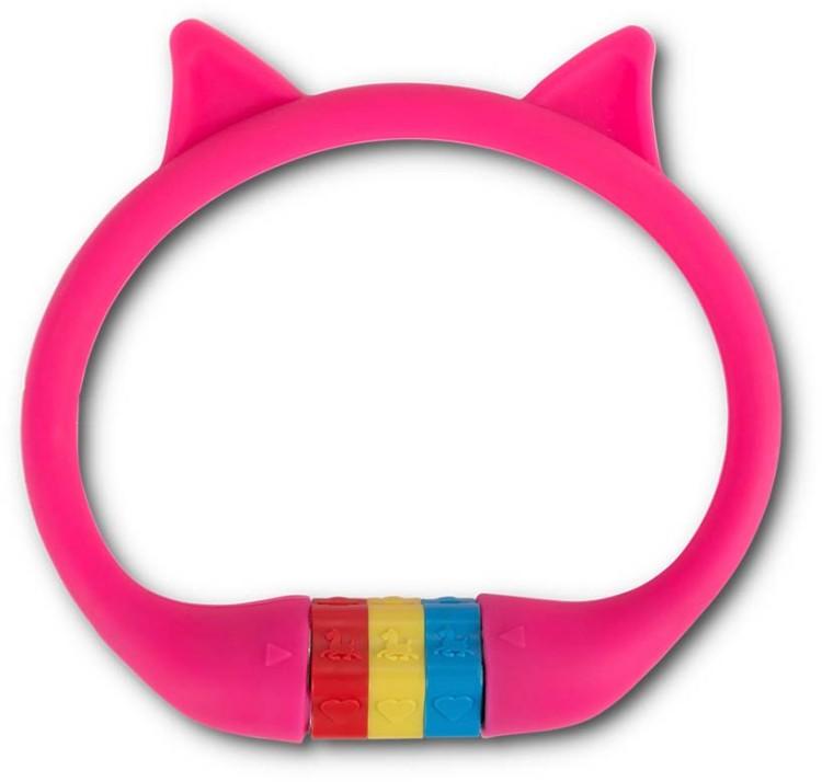 """RFR Numero serratura del cavo HPS """"CAT"""" 10 x 350 mm rosa"""