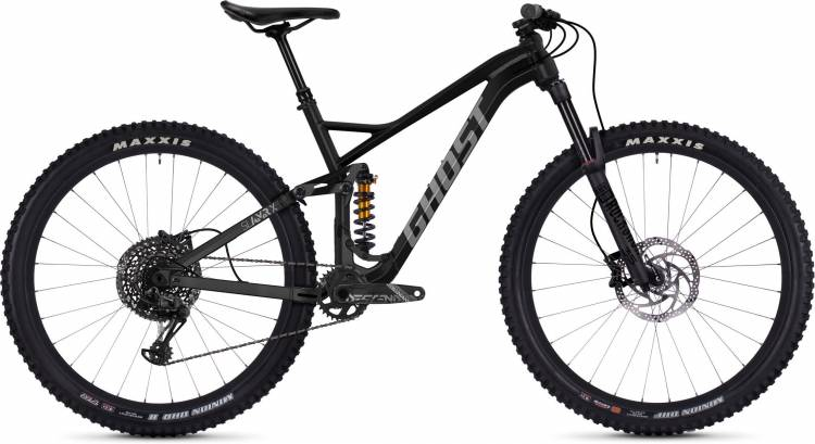 Ghost Slamr X5.9 AL U jet black / urban gray 2020 - Fully Mountainbike