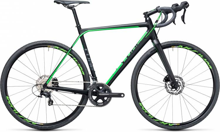 Cube Cross Race SL black n green 2017