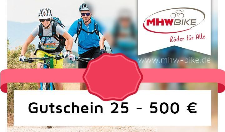 Varianti dei voucher MHW da 25,- a 500,- Euro