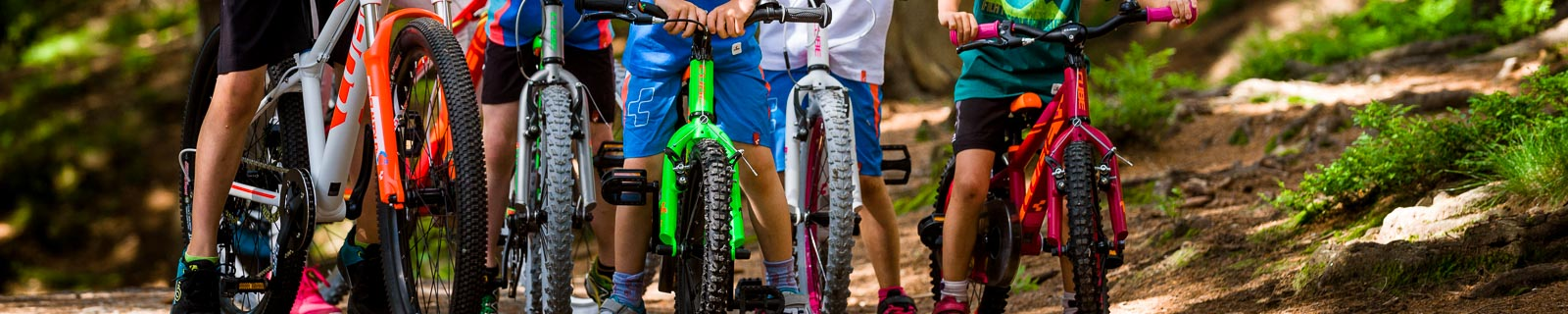 Bici senza pedali e biciclette per Bambini