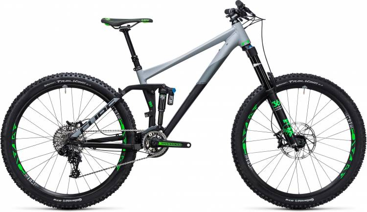 Cube Fritzz 180 HPA Race 27.5 black n grey 2017