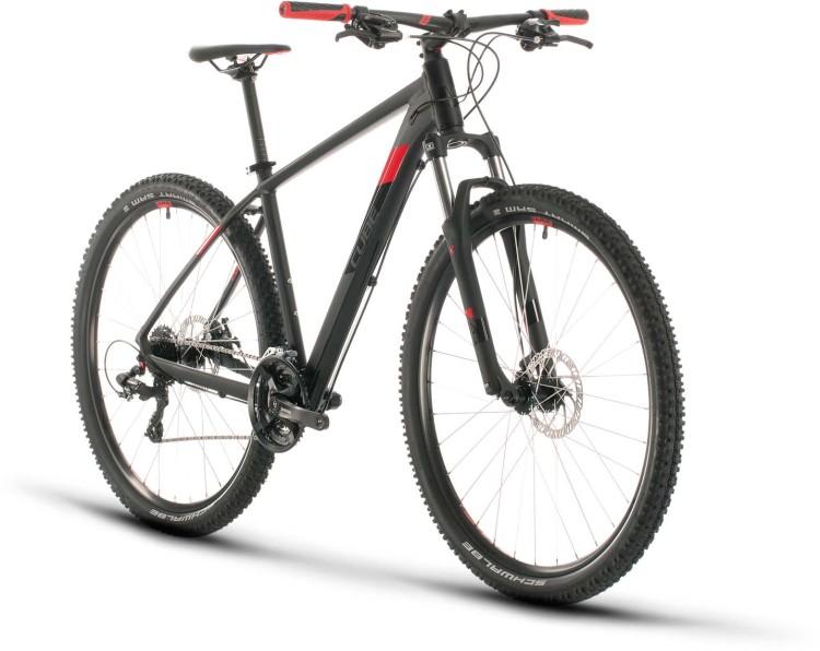 Cube Aim black n red 2020 - Hardtail Mountainbike