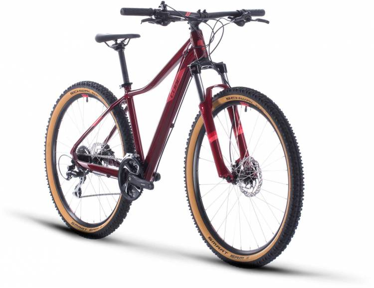 Cube Access WS Exc poppyred n coral 2020 - Hardtail Mountainbike per Donne