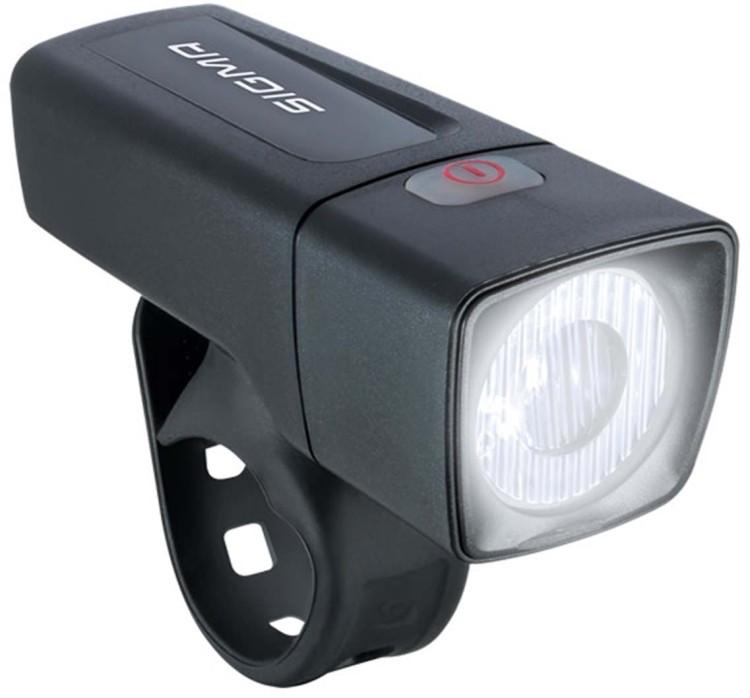 Lampada anteriore Sigma LED Aura 25 nero