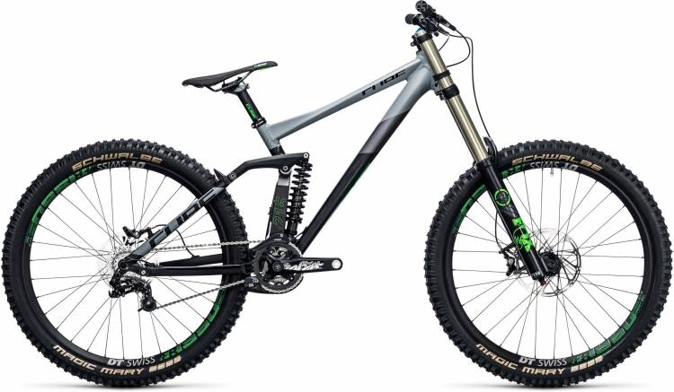 Cube TWO15 HPA Race 27.5 black n green 2017