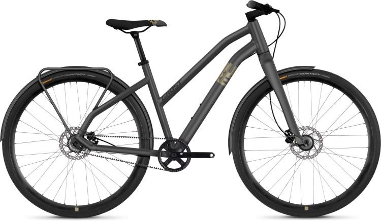 Ghost Square Urban 3.8 AL 2021 - Bici da Fitness per Donne Trapezio