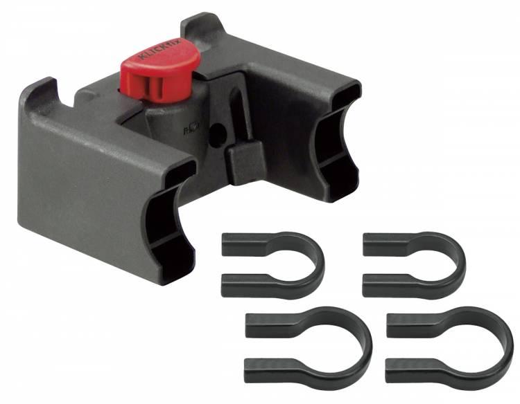 Rixen & Kaul KLICKfix adattatore manubrio universale nero 22-26mm e 31,8mm