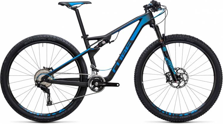 Cube AMS 100 C:68 Race 29 blue carbon 2017