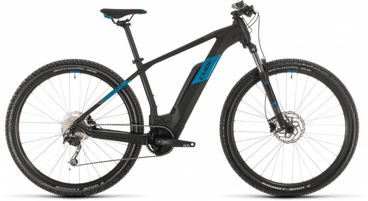 Cube Reaction Hybrid ONE 500 black n blue 2020 - E-Bike Hardtail Mountainbike